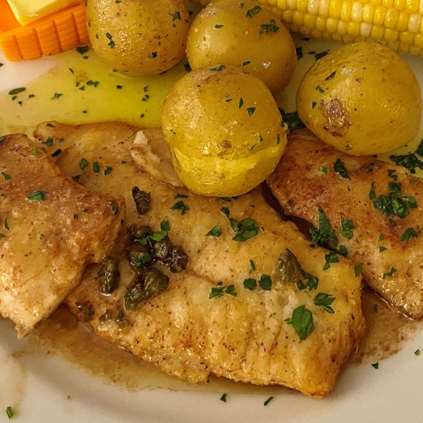 Sole Meuniere (Sole in Lemon Butter Sauce)