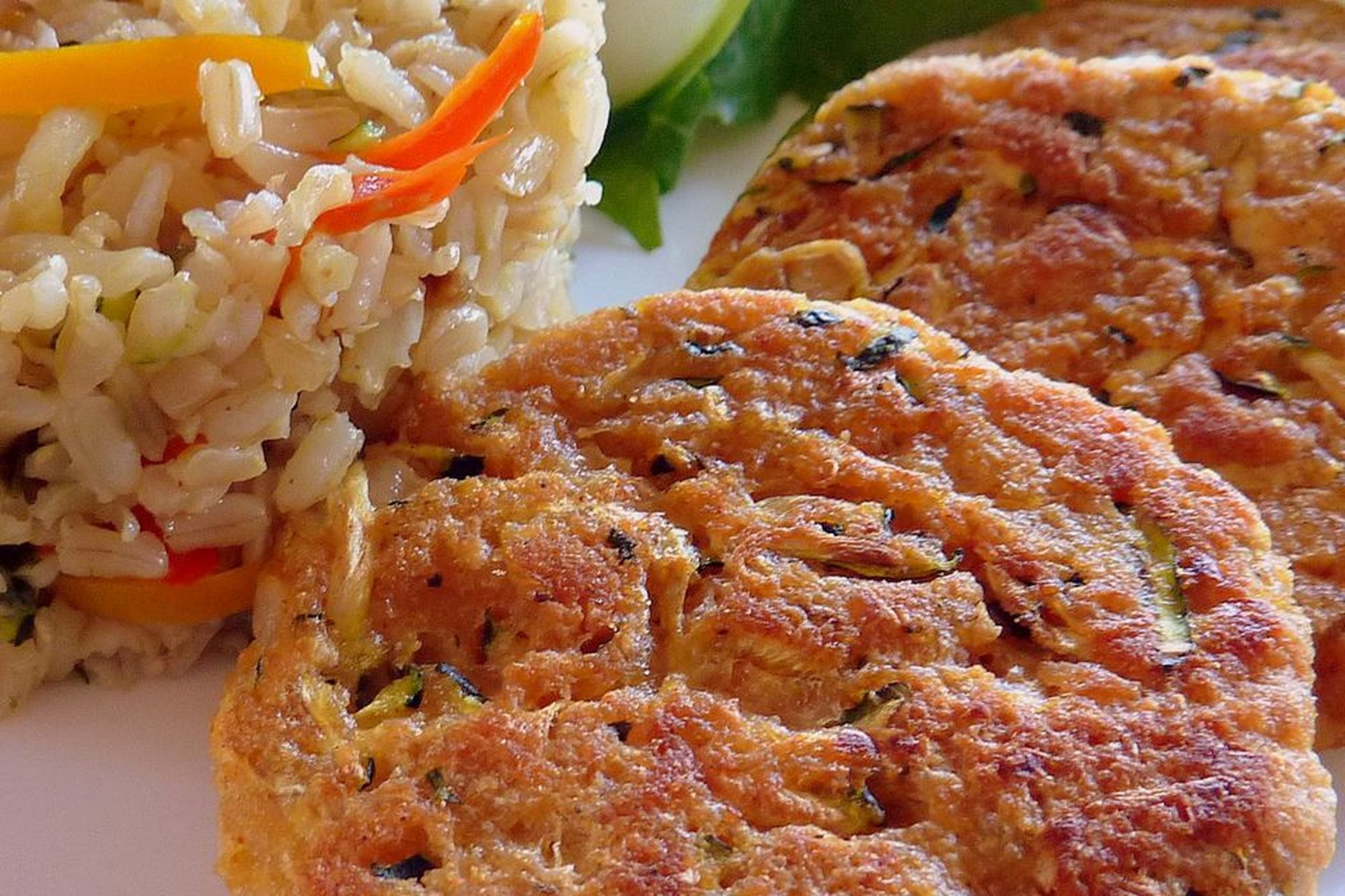 Connie's Zucchini Crab Cakes