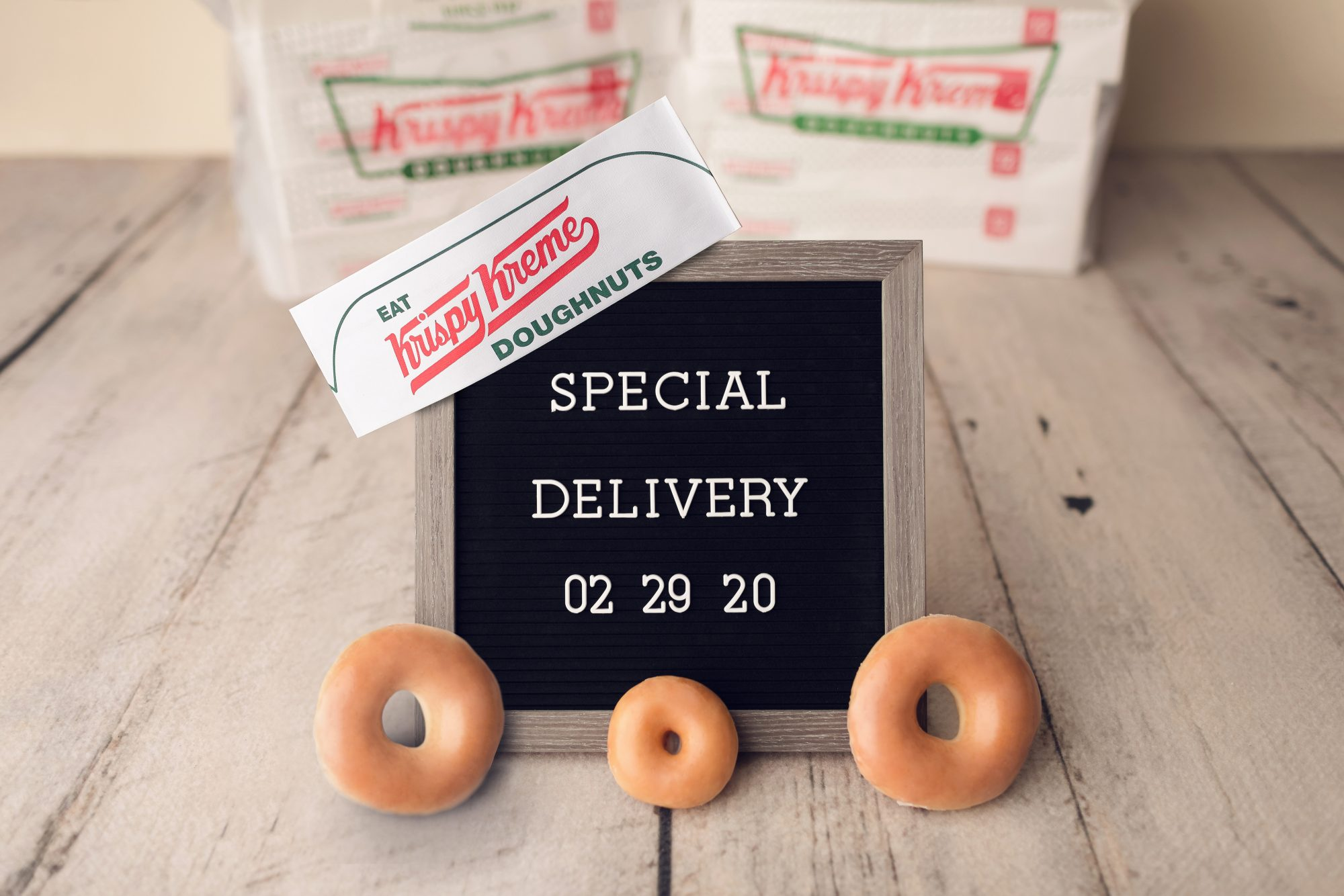 Krispy Kreme Is Launching a Doughnut Delivery Service This Weekend So You Don't Have to Leave the House