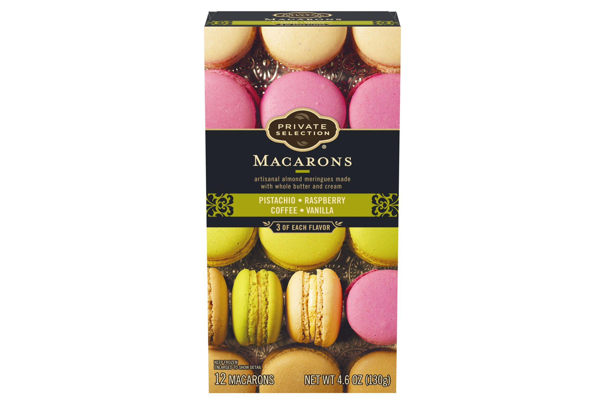 Private Selection Macarons box