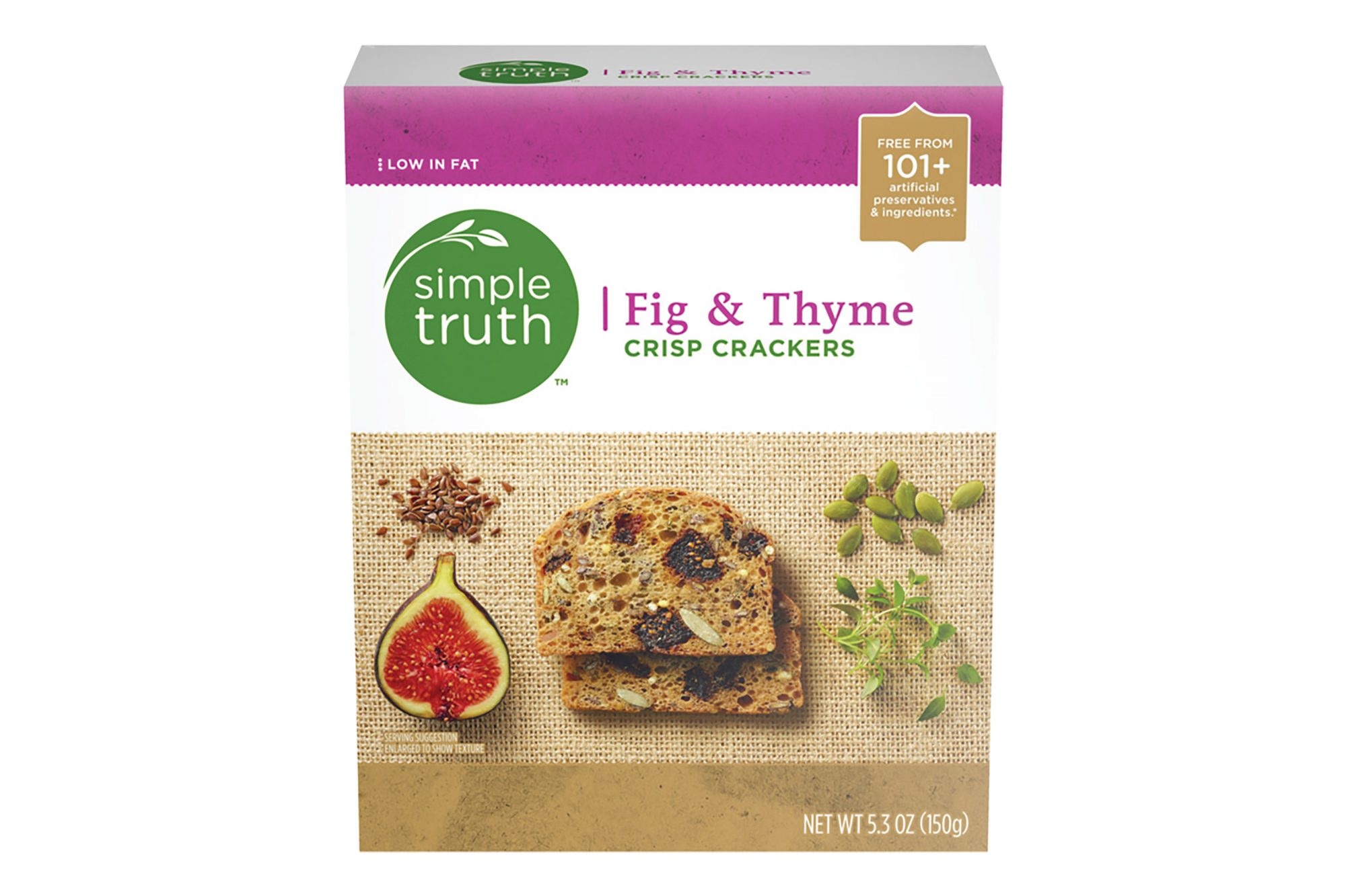Simple Truth Fig Thyme Crisp Crackers