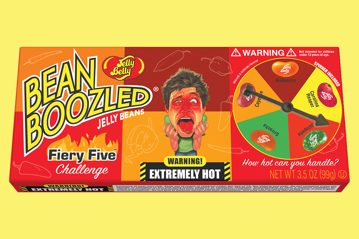 Jelly Belly's New Fiery Beans Are Tongue-Torching Hot