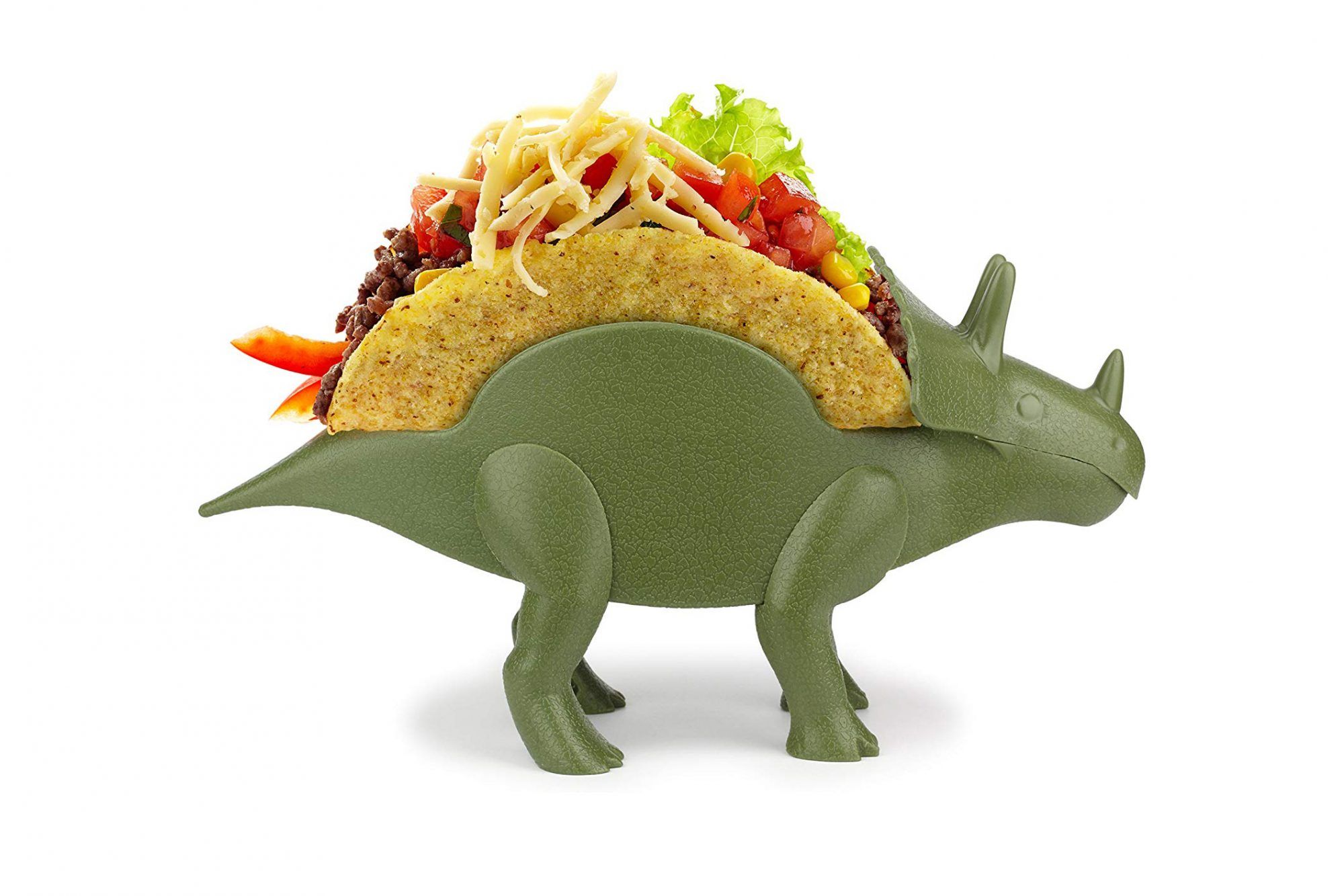 This $10 Dinosaur Taco Holder Will Be a Hit at Your Next Taco Night