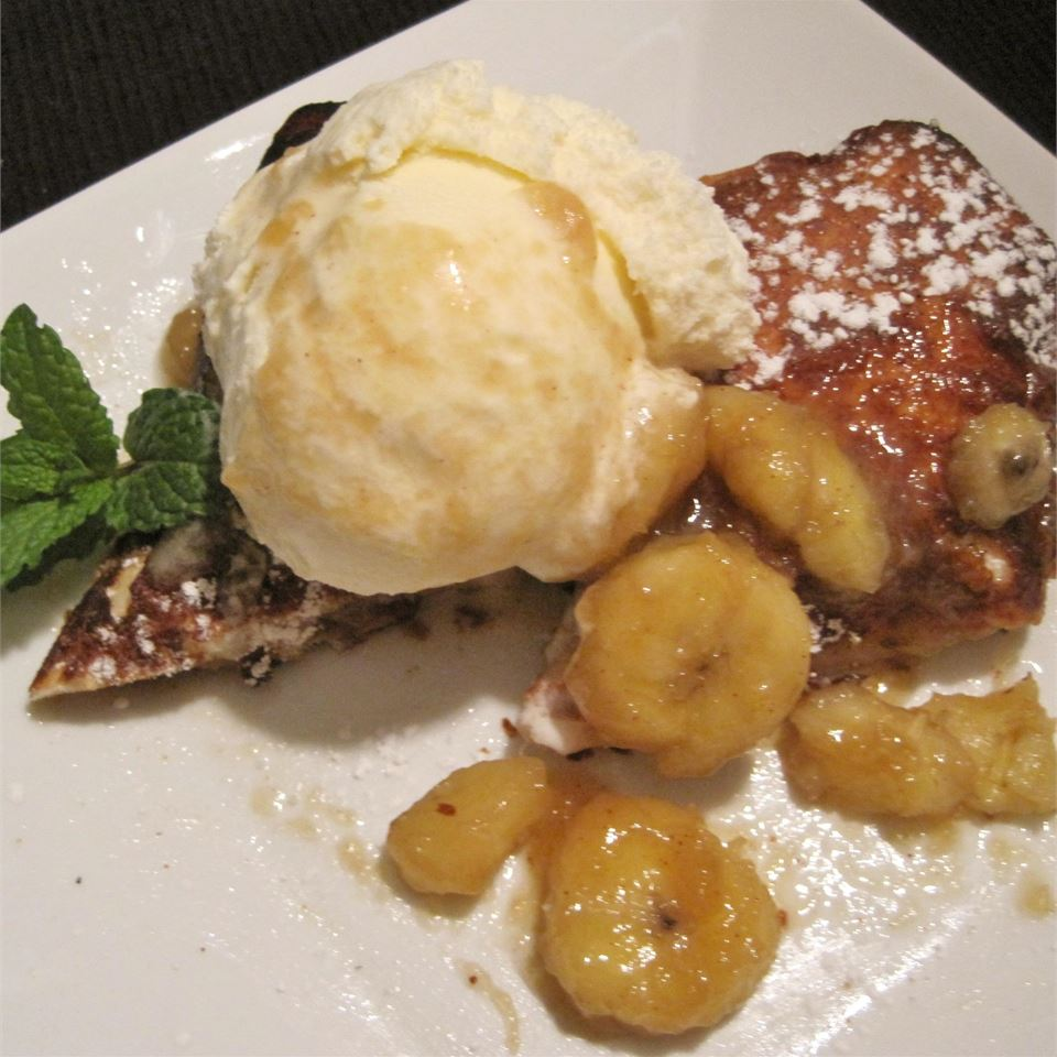 Bananas Foster Chimichangas