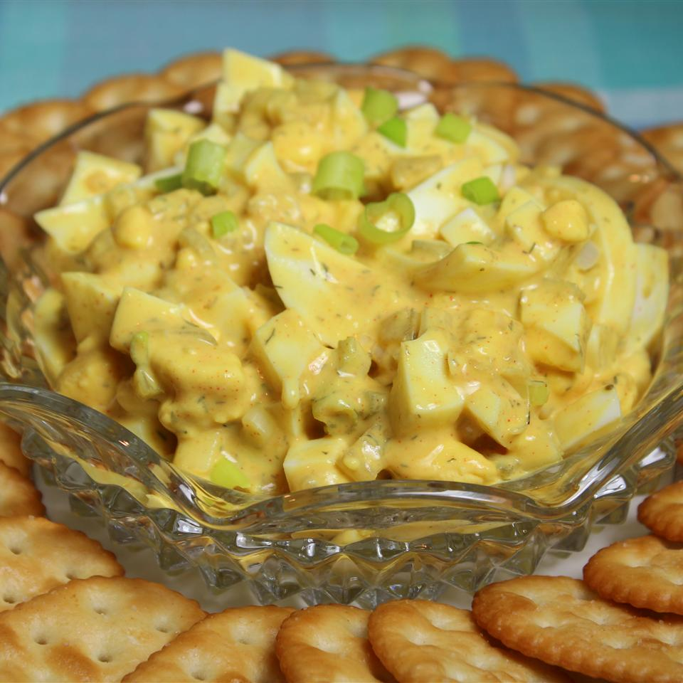 Simple Greek Yogurt Egg Salad