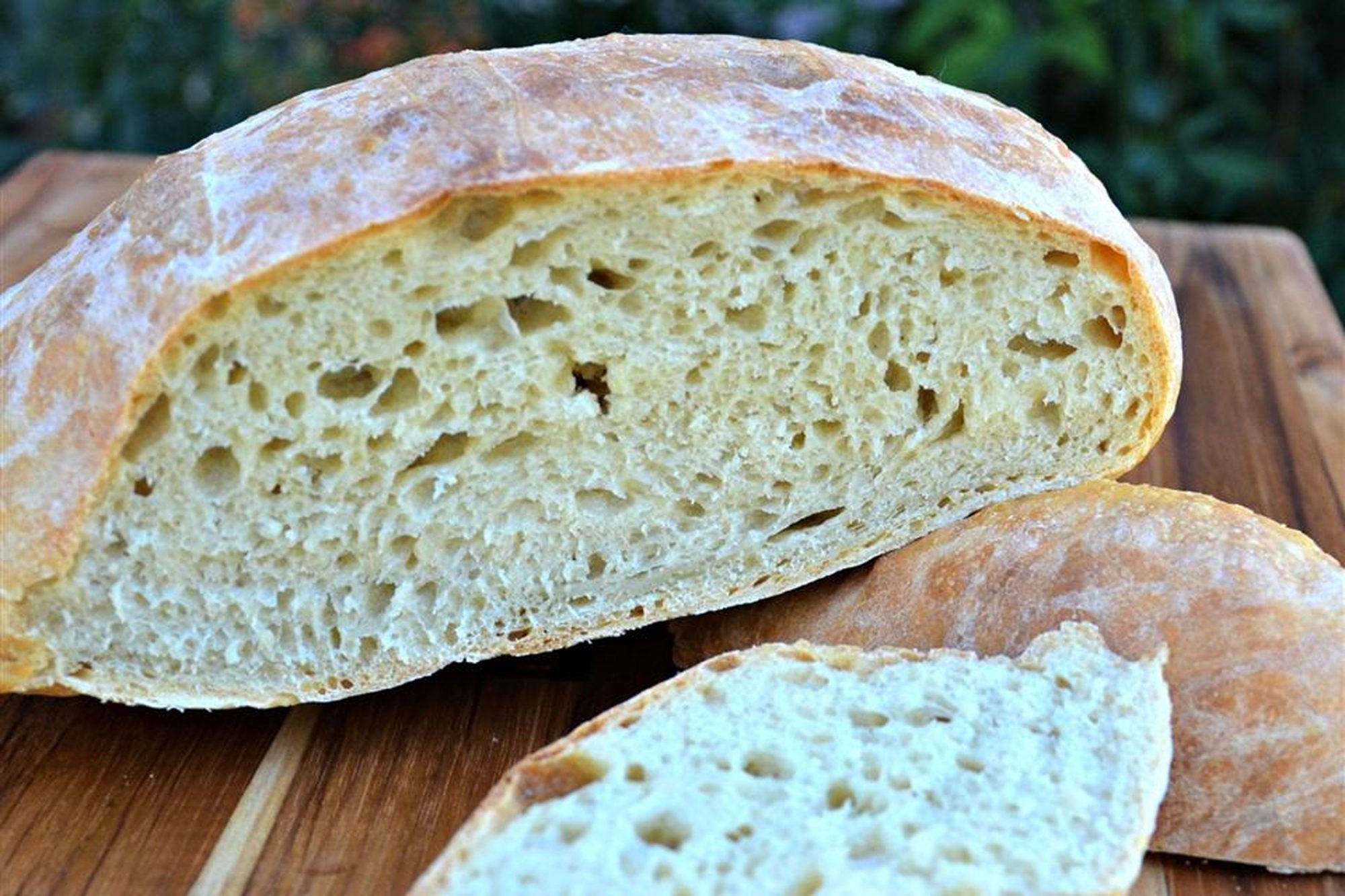 Effortless Rustic Bread