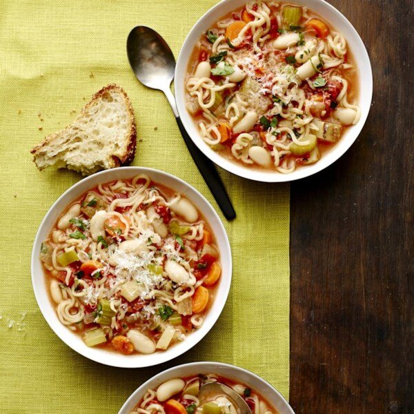 canned cannellini beans are the key to easy healthy dinners