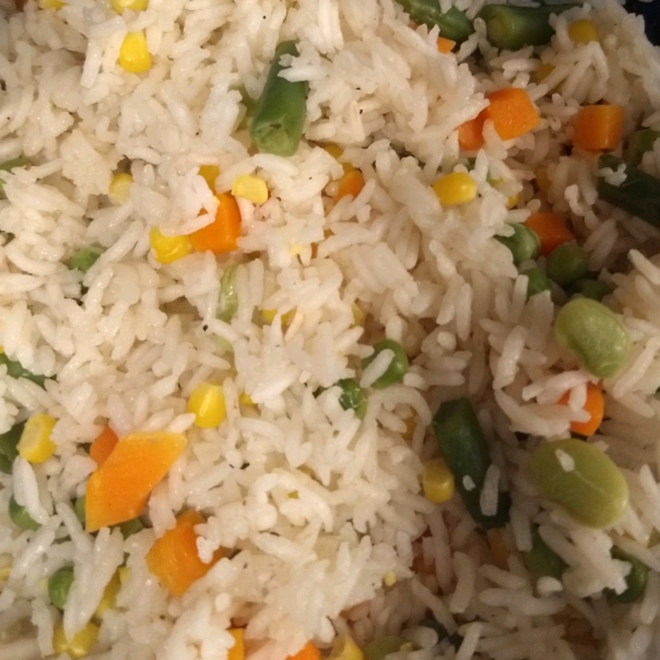Baked Vegetable Rice Pilaf