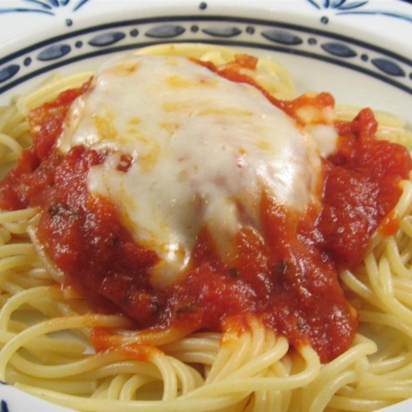 Quick Baked Chicken Parmesan