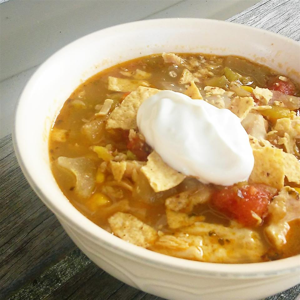 Quick and Easy Chicken Pozole