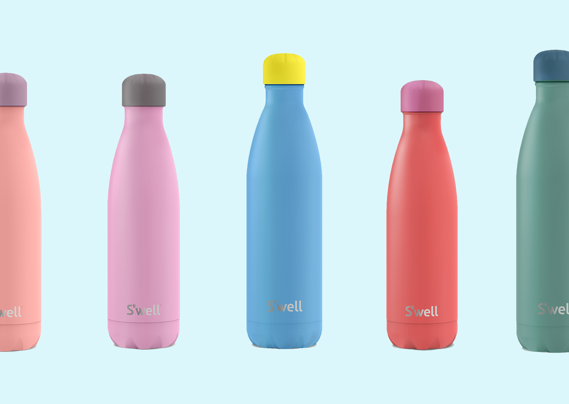 Eternally Grapeful: S'well's New Colorful Water Bottles Are Beautiful and Punny