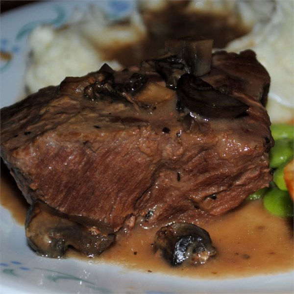 "This simple London broil recipe requires almost no prep time. ""A 5-star recipe for sure, especially considering how incredibly easy and affordable it is,"" says Darkgardyner. ""It basically cooks itself, tenderizes all on its own, and is a perfect accompaniment to potatoes, rice, noodles, and veggies."""