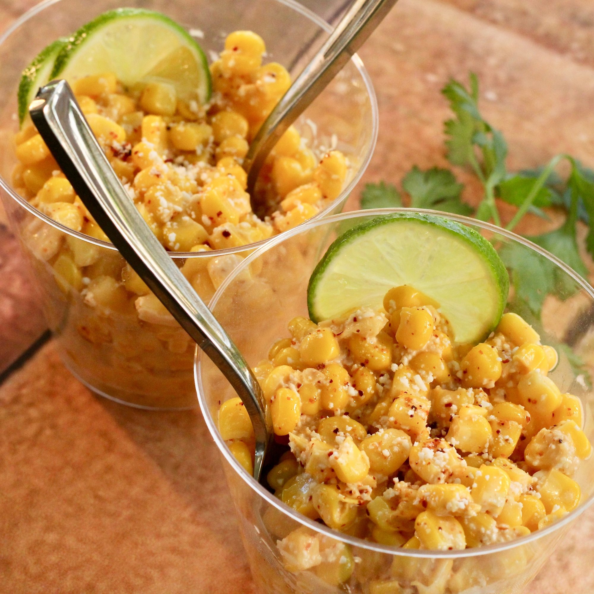 Elotes (Mexican Corn in a Cup)
