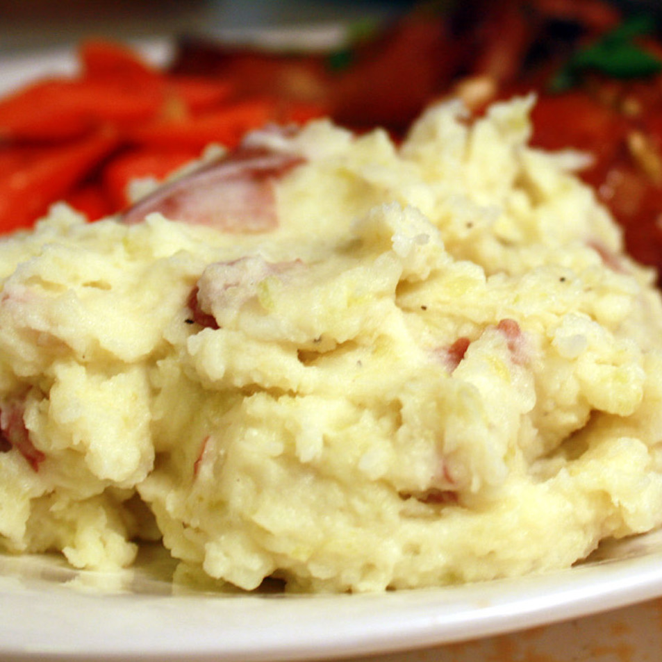Suzy's Mashed Red Potatoes