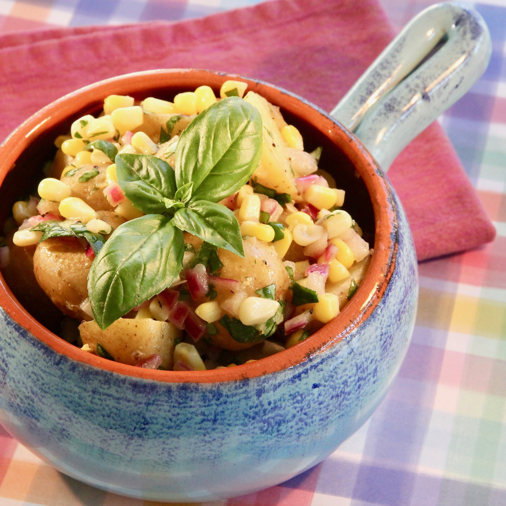 Corn & Potato Salad