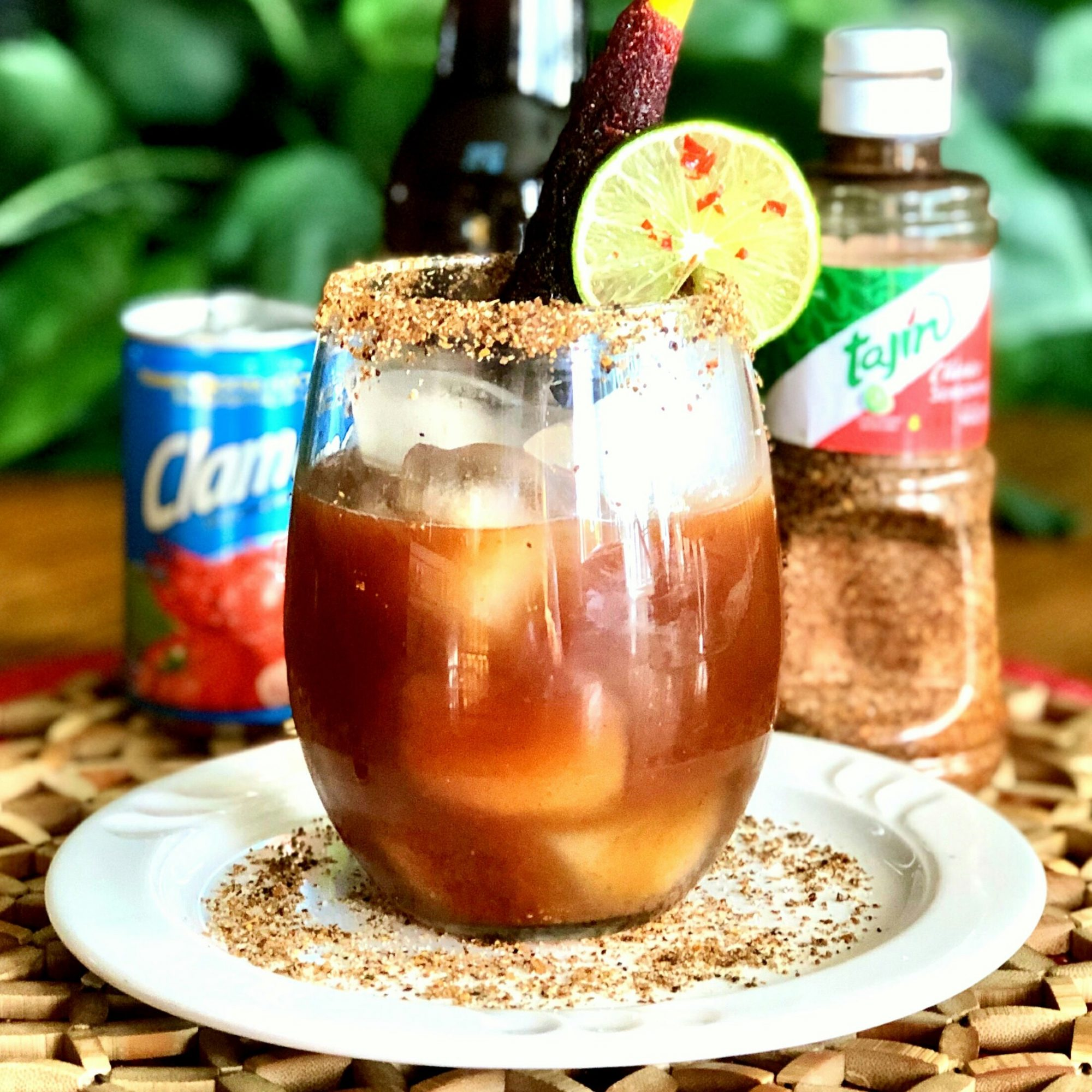 Micheladas with Tajin