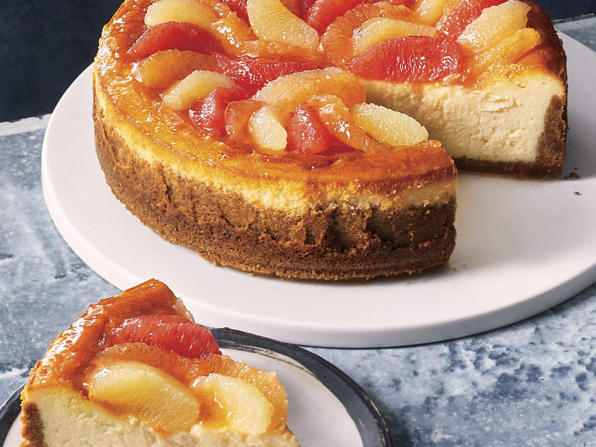 BRAND: Southern Living , STORY ID: 2588201_SaveR, FEATURE/STORY NAME: Save Room: Citrus Cheesecake, ISSUE: Jan 2019, RECIPE: Citrus Cheesecake
