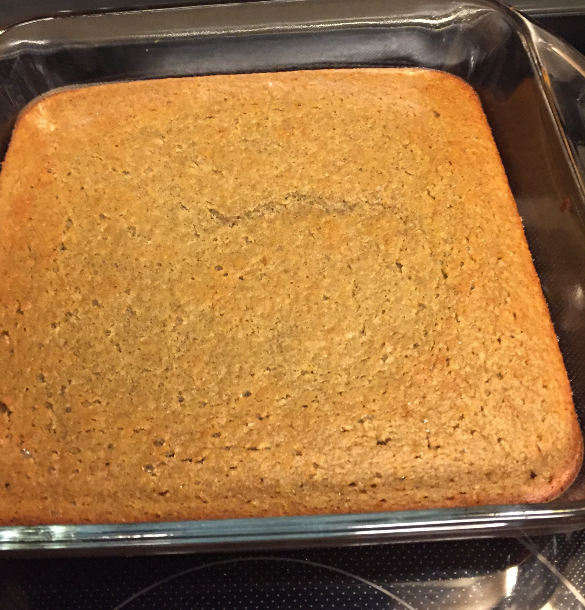 Orange Spice Garbanzo Cake