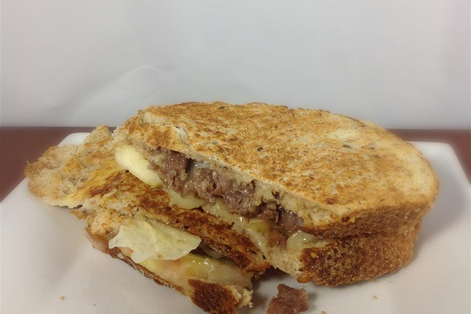 Apple and Bacon Grilled Cheese