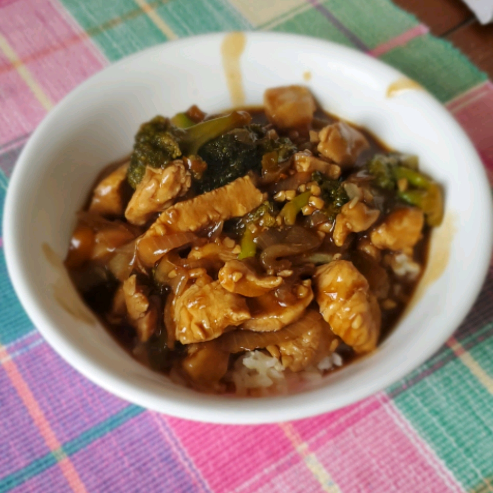 Broccoli and Chicken Stir Fry