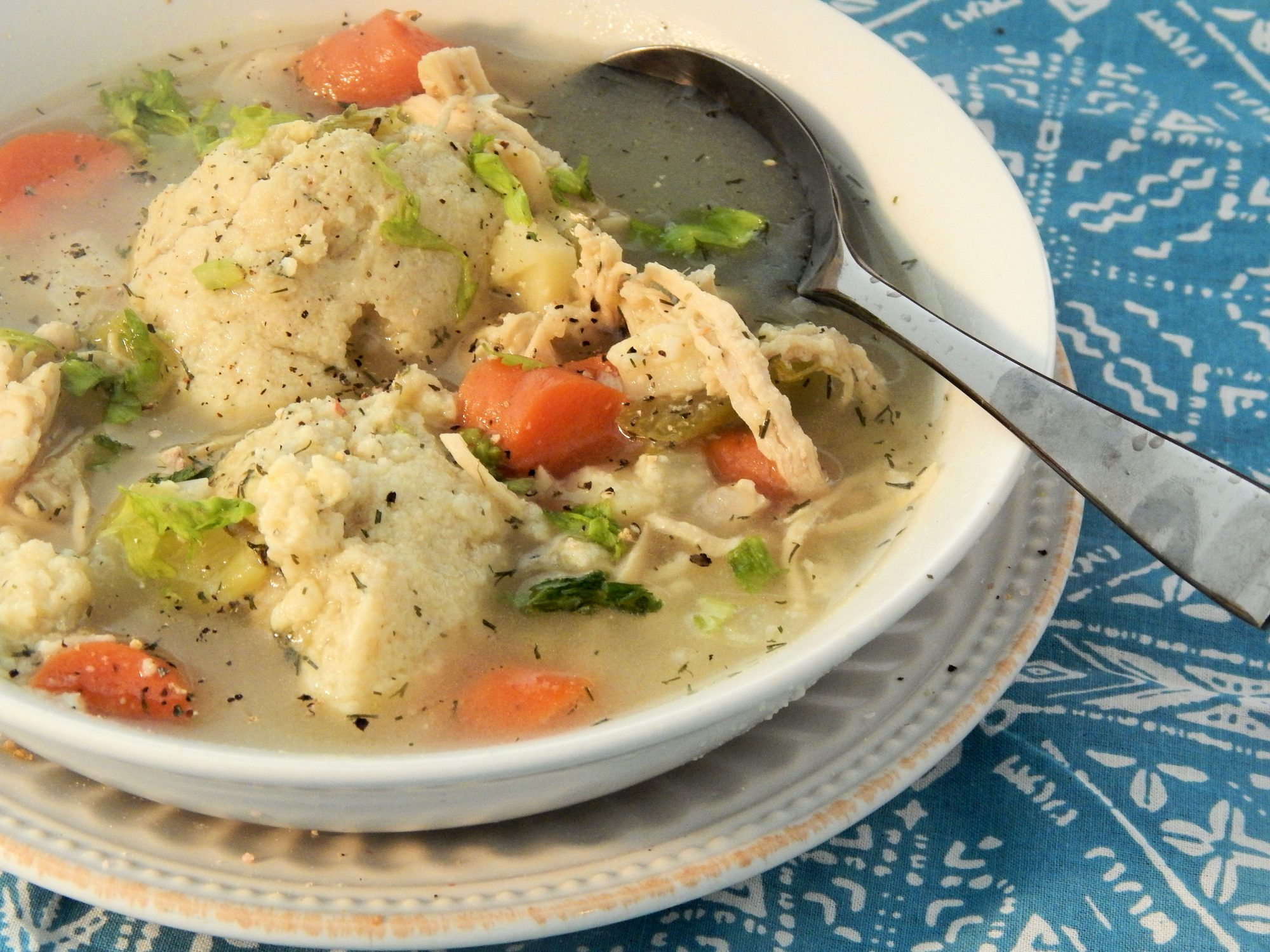 Bubbie's Hearty Matzo Ball Soup