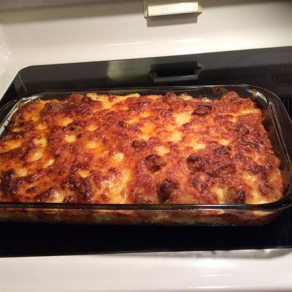 Quick and Easy Tater Tot Casserole