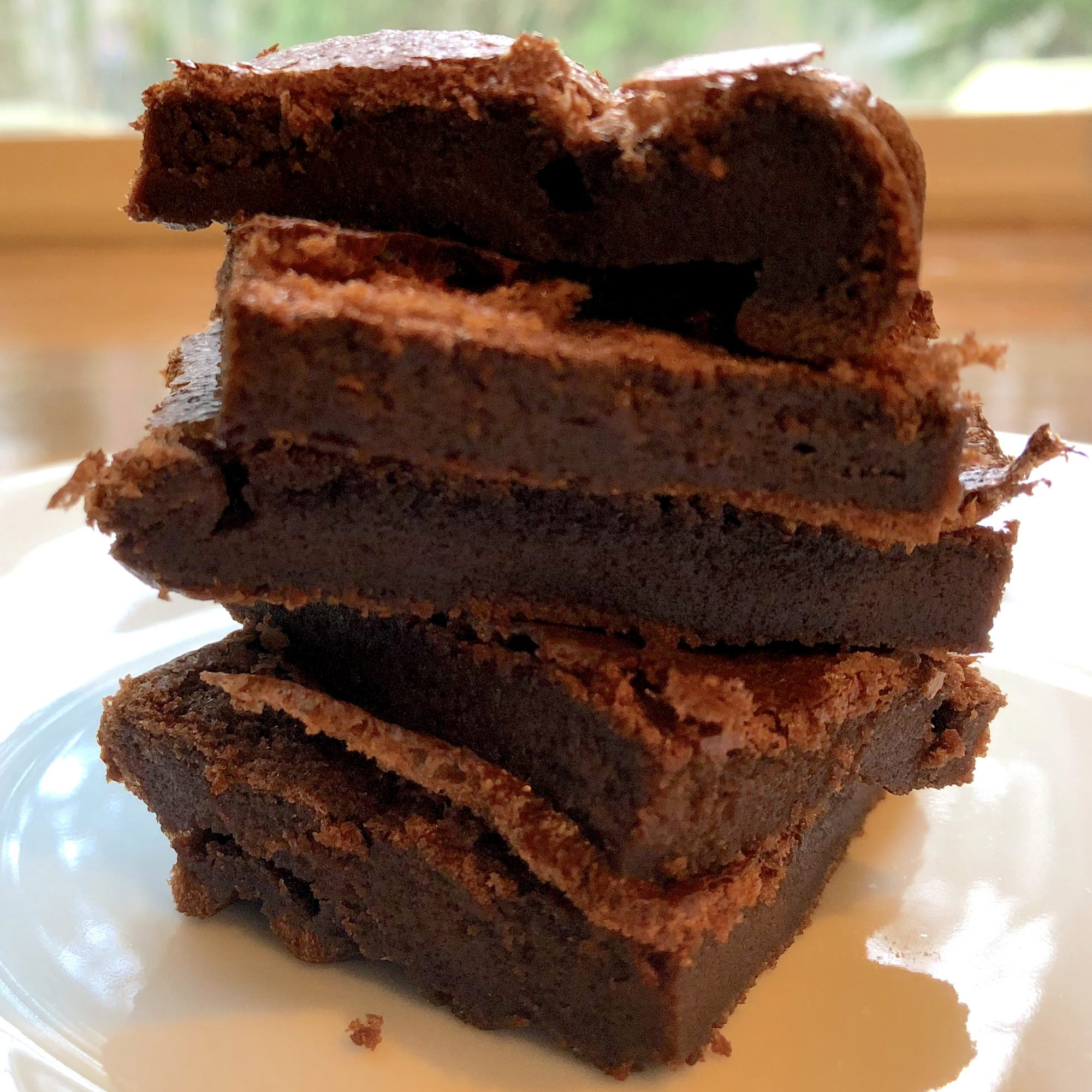 Easy Gluten-Free 2-Ingredient Nutella Brownies
