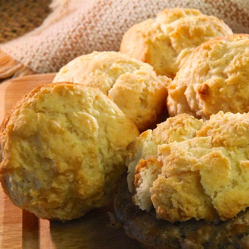 Easy Mayonnaise Biscuits