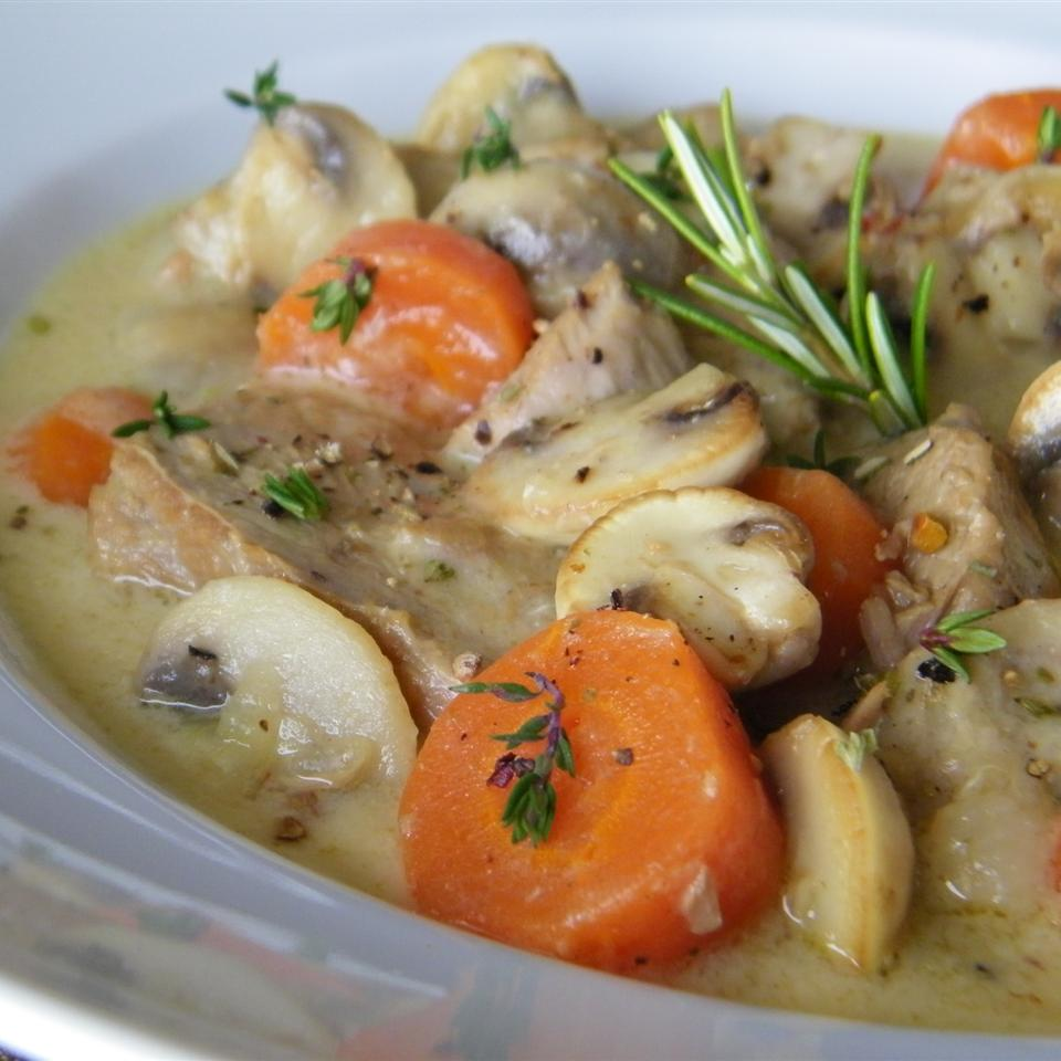 Veal Roast Blanquette