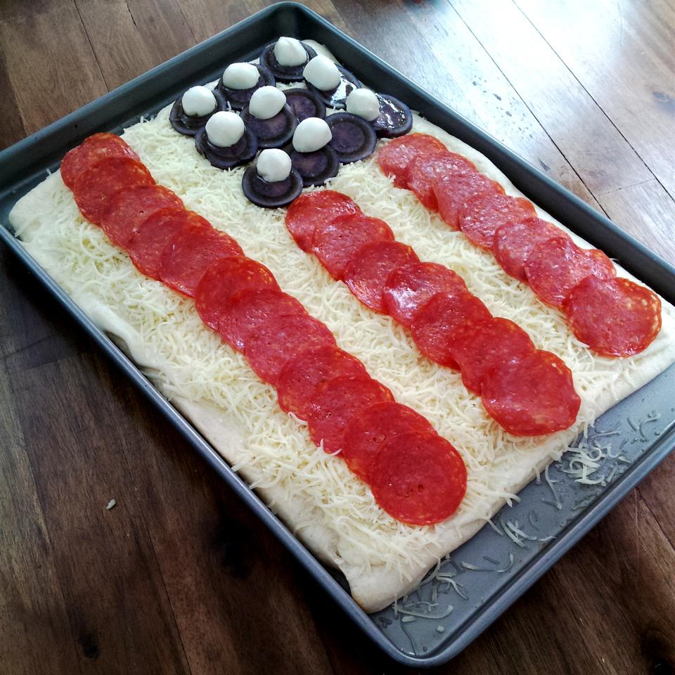 Flag Pizza