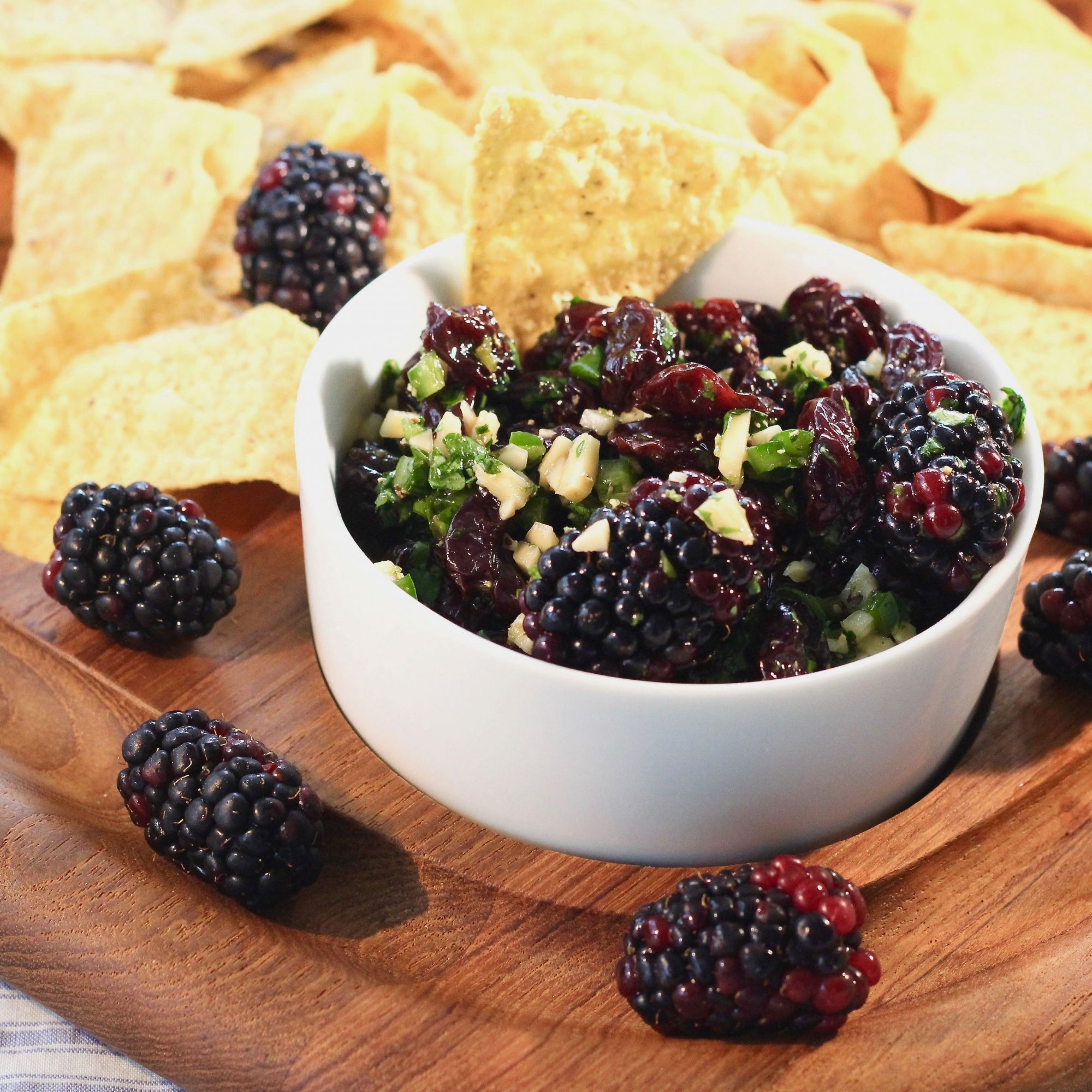 Blackberry-Cherry Salsa