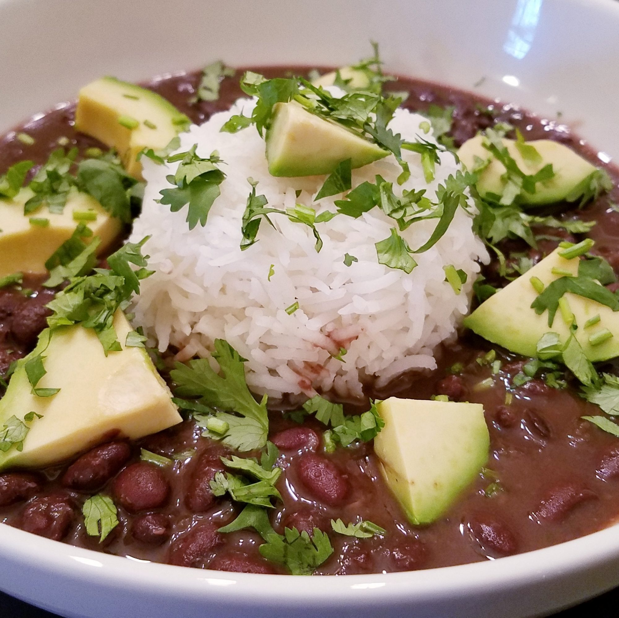 Inexpensive dried black beans become perfectly tender in this slow cooker soup—a great alternative to the usual stovetop chili. Dial back the spices like some reviewers for a milder soup, or top off the bowl with cooling avocado, rice, or sour cream.