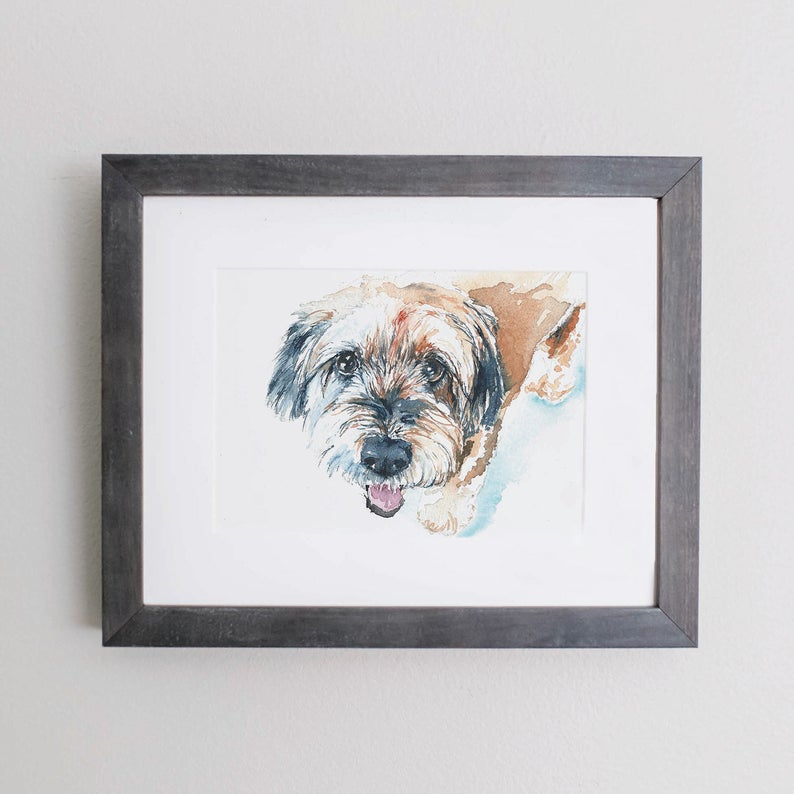 Custom Illustration Cards for Canines