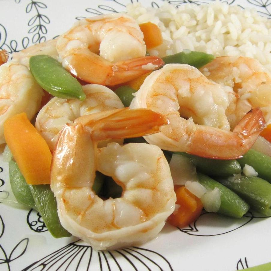 Honey Garlic Shrimp Stir-Fry