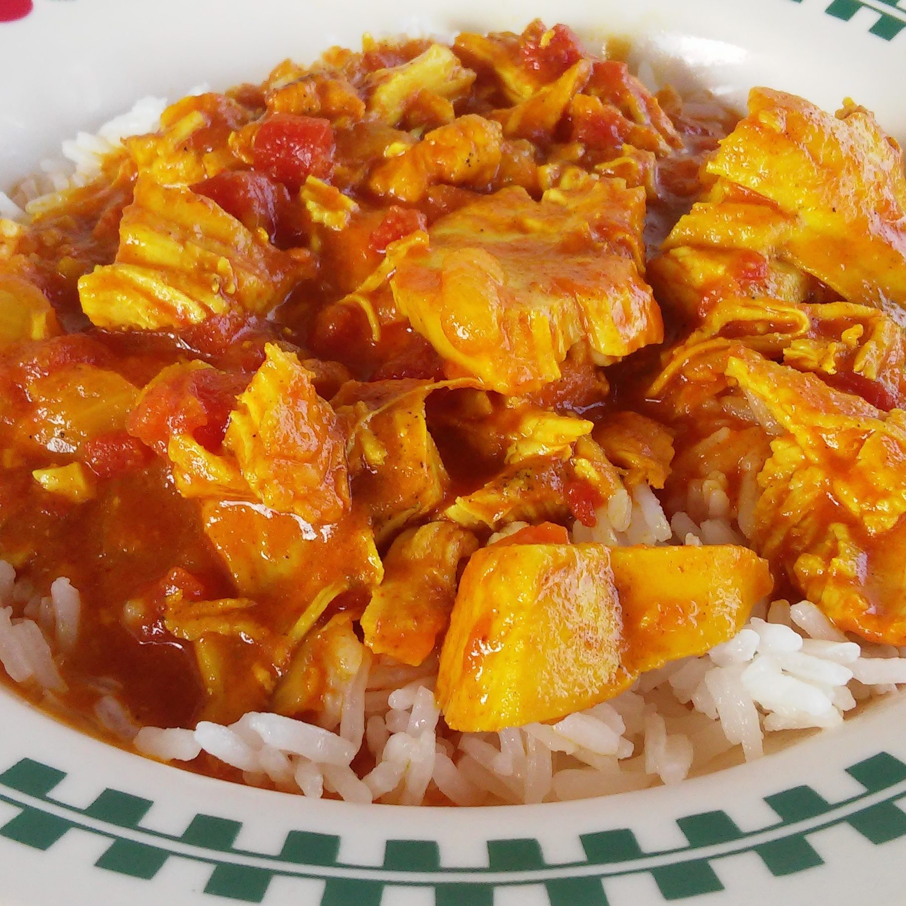 """""""This is a rich, creamy coconut curry dish that comes together quickly in an Instant Pot,"""" says Helene Choi. """"Customize the taste by using more or less curry powder and sugar. Delicious over jasmine or basmati rice! Garnish with chopped chives, if desired."""""""