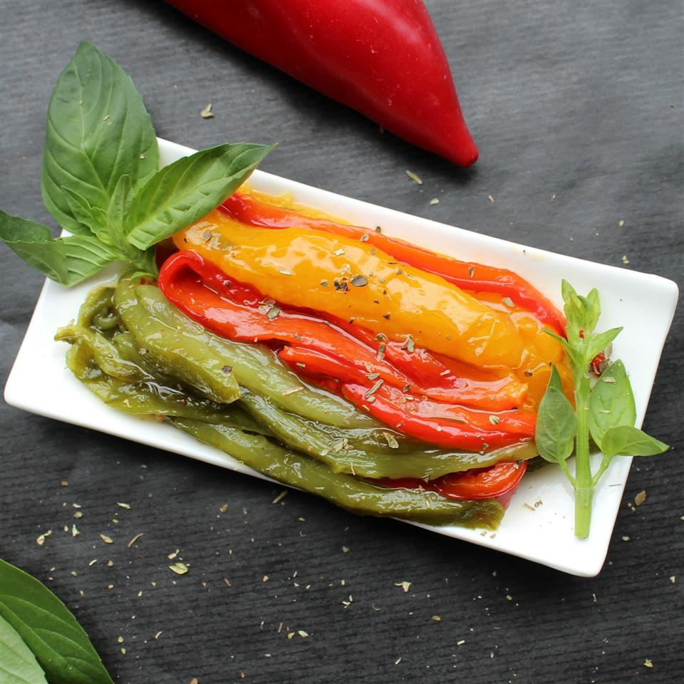 Roasted Peppers in Oil Peperoni Arrostiti Sotto Olio
