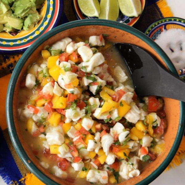 Mexican Mango and Whitefish Ceviche