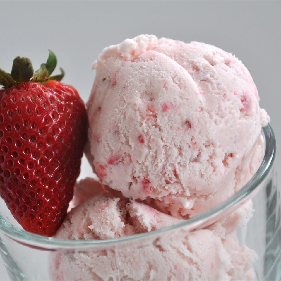 Want the inside the scoop?Homemade ice creamdoesn't have to be a chore or an all-day activity. So put down that store-bought pint and try your hand at this, ice-cold treat that calls for just 6 simple ingredients. One of the great things about going DIY is that you can mash the berries as little or as much as you like, depending on how chunky you prefer your ice cream.