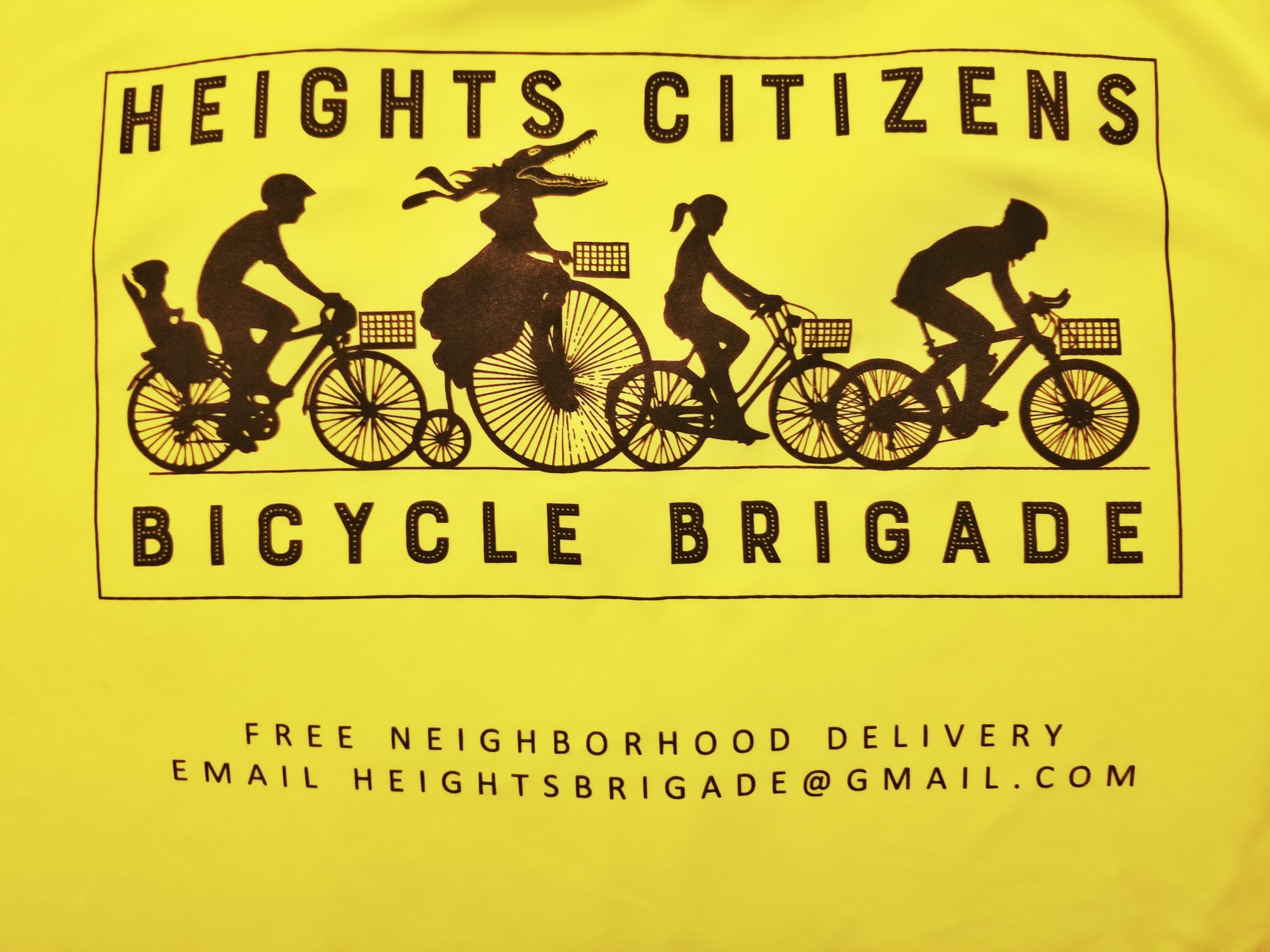 Heights Citizens Bicycle Brigade logo