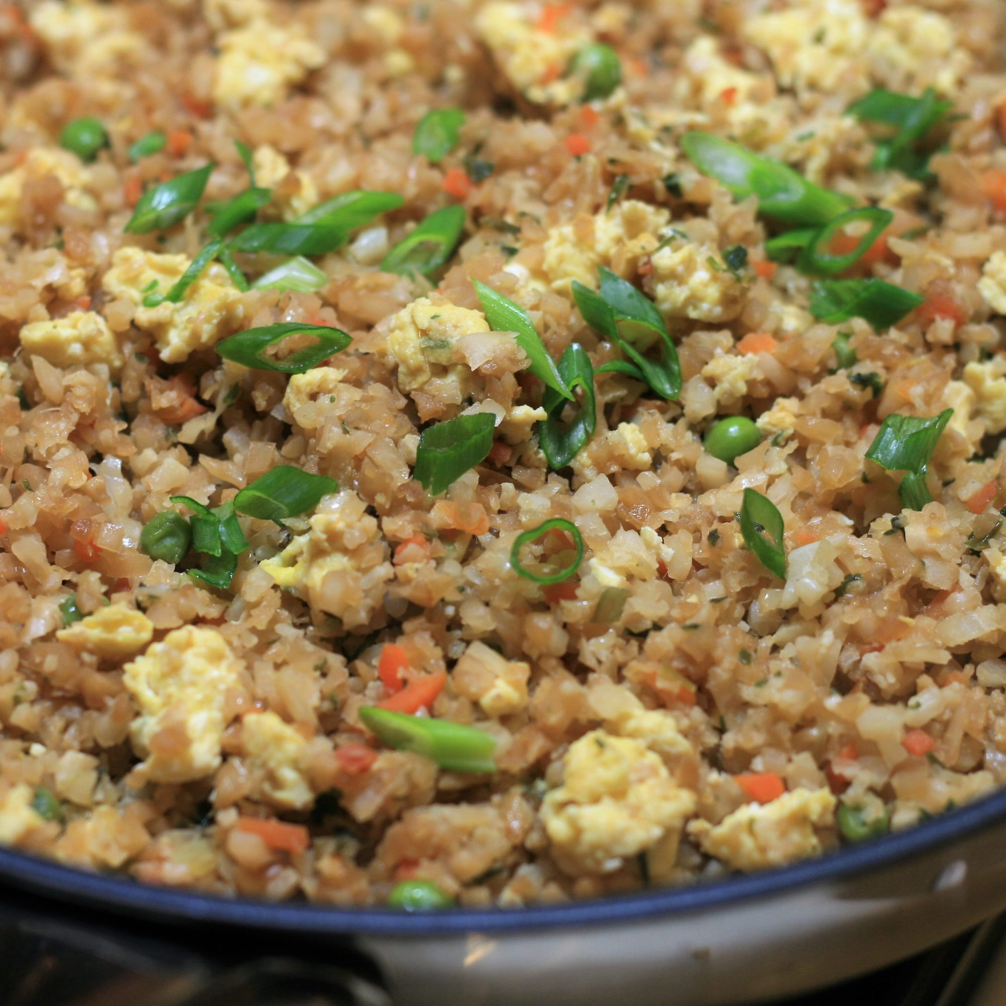 Cauliflower Rice Stir-Fry