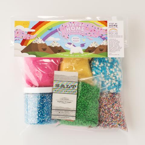 beautiful briny sea stay at home sprinkle kit