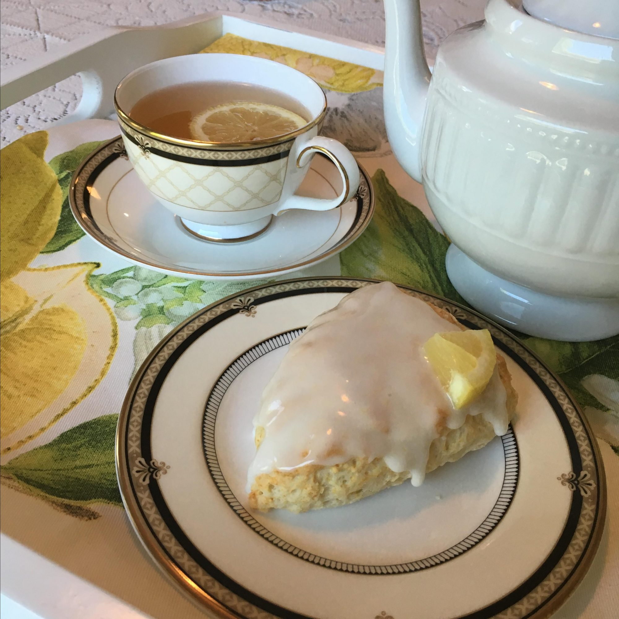3-Ingredient Lemon Scones