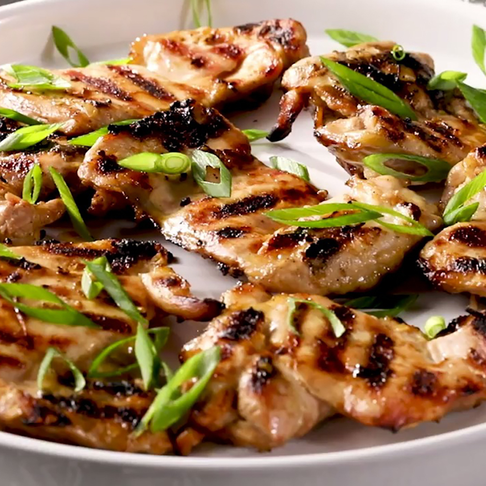 Vietnamese Grilled Lemongrass Chicken