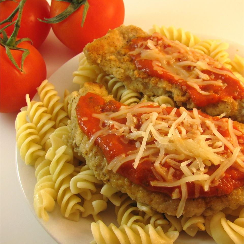A 20-Minute Chicken Parmesan