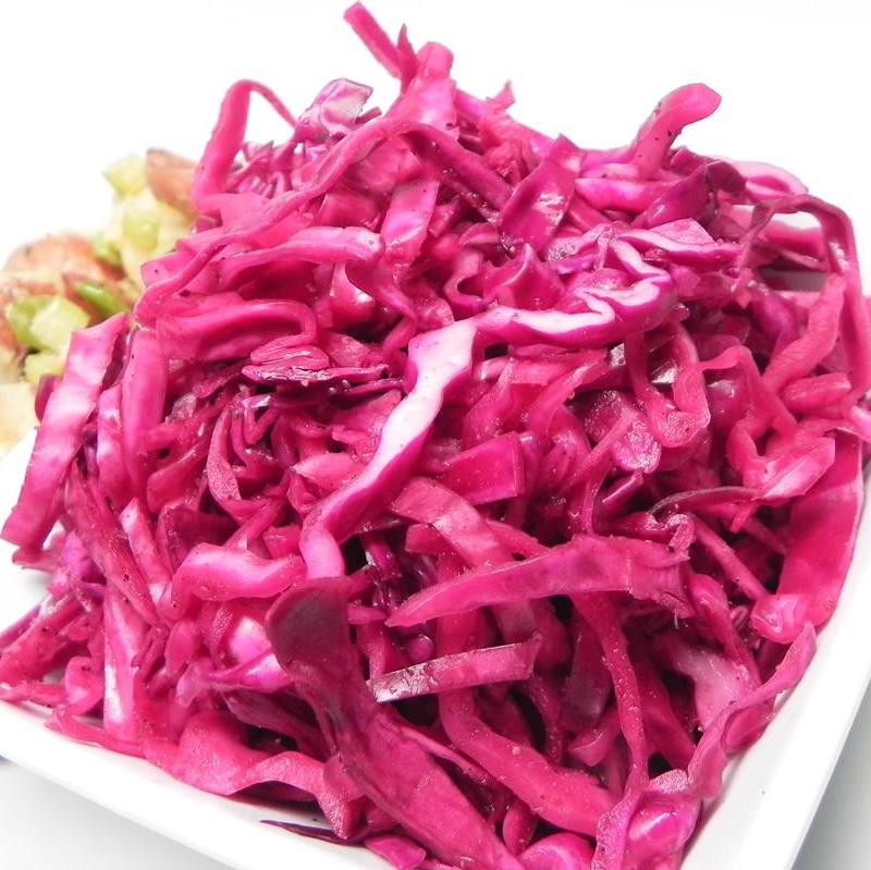 Red Cabbage Slow Slaw
