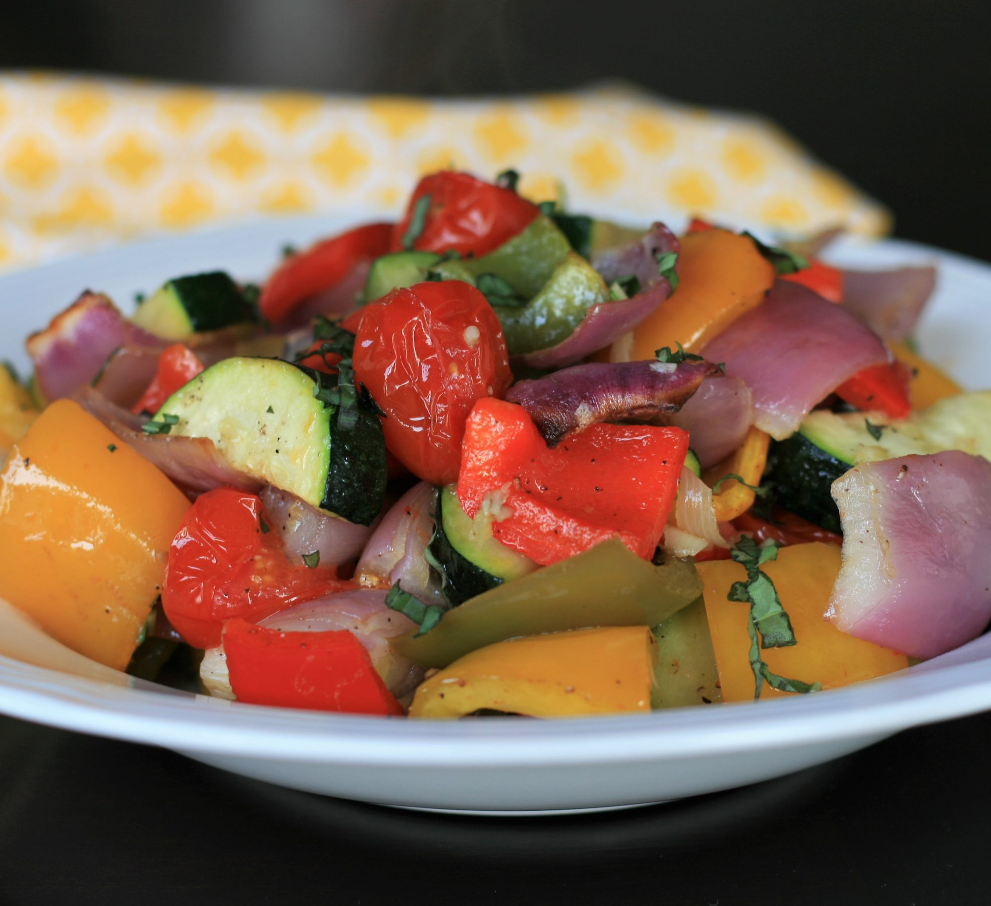 Sheet Pan Roasted Mediterranean Vegetables