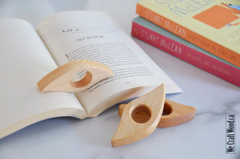 Book Page Holder, Thumb Page Holder