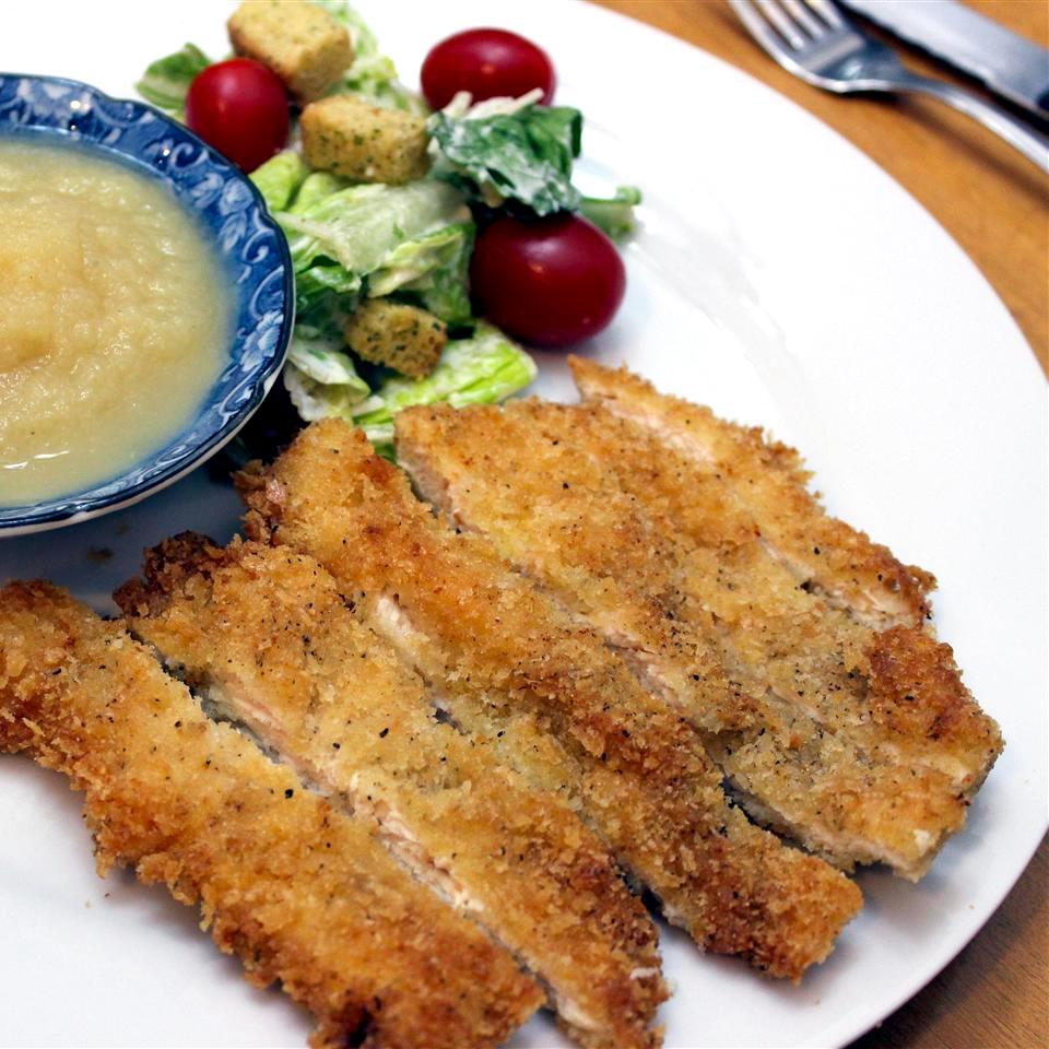Crispy Panko Chicken Breasts