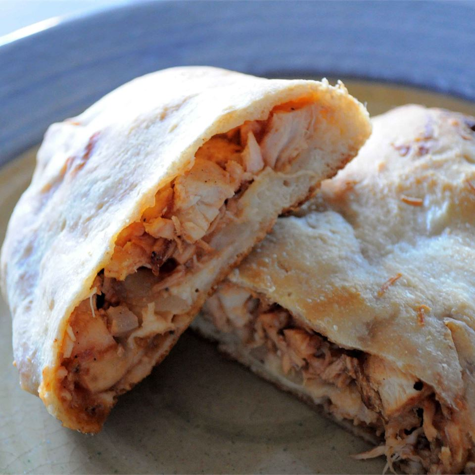 BBQ Chicken Calzones