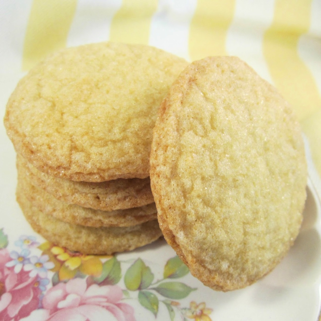 Lemon cookies are perfect for getting that sweet fix in but in a more tart, refreshing way. These cookies are ready in about an hour and a half. Sprinkle with sugar on top, if desired.